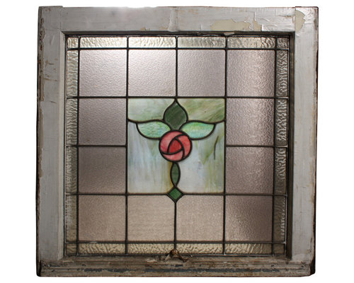 Antique Stained & Leaded Glass