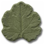 "Garden Molds - Big Leaf Stepping Stone Mold - Mold Dimensions: 14.5"" x 14.5"" x 2"""