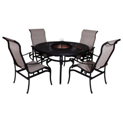 Spectacular Transitional Outdoor Dining Sets by Patio Retreat