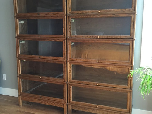 Pricing Of Barrister Bookcases