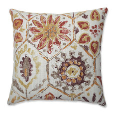 Pillow Perfect Indoor Antique Stone Spice Purple 16.5-inch Throw Pillow