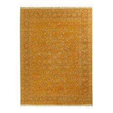 """ALRUG Handmade Golden Brown Oriental  Ziegler Rug, 5' 7"""" x 7' 6"""""""