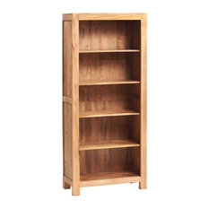 Santiago Light Mango Wood Large Open Bookcase