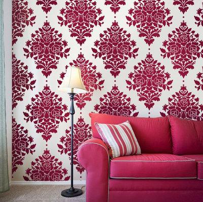 Eclectic Wall Stencils by Janna Makaeva/Cutting Edge Stencils