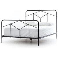 MERLIN BED- BLACK-QUEEN
