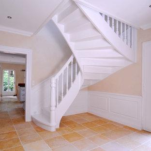 ブレーメンのおしゃれな階段の写真