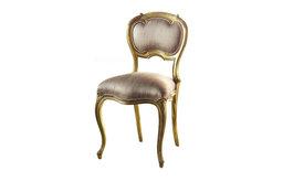 Keswick Oval Silk Bedroom Chair