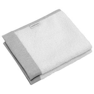 Pura 2-Piece Baby Towel Set, Grey
