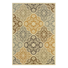 "Oriental Weavers Sphinx Bali Multicolor Rug, 8' 6""x13"""
