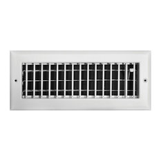 """Truaire Adjustable 1-Way Wall/Ceiling Register, 12""""x4"""""""