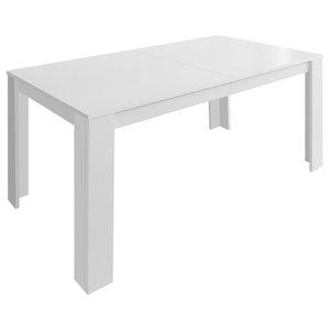 VidaXL Dining Table, 140x80x75 cm, White