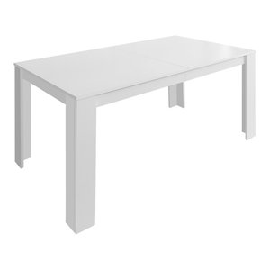 VidaXL Dining Table, 140x80x75 cm, White