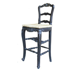 Pleasing French Country Bar Stools Counter Stools Houzz Ibusinesslaw Wood Chair Design Ideas Ibusinesslaworg
