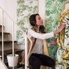 My Houzz a Firenze: La Casa Atelier di Giulia È un Inno al Verde
