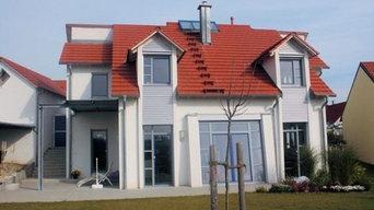 Neubau eines Einfamilienwohnhauses mit Garage