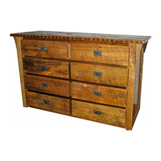 Reclaimed Barn Wood 8-Drawer Dresser