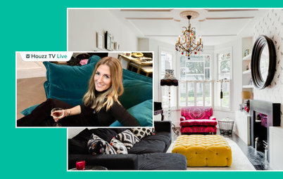 Bright Color and Retro Art Energize a Designer's London Home