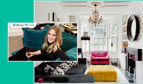 Houzz TV: Bright Colour and Retro Art Energise a Designer's Home
