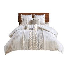 INK+IVY Cotton Comforter Mini Set in Ivory Finish II10-995