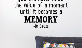 Value of a Moment Whimsical Wall Quotes Decal Black