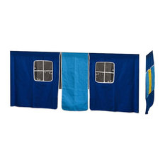Kids World Printed Bed Tent, Blue