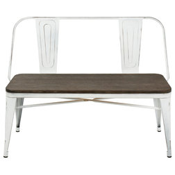 Farmhouse Dining Benches by GwG Outlet