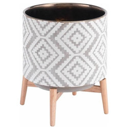 American Southwest Indoor Pots And Planters by Zuo Modern Contemporary