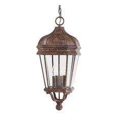 Minka-Lavery 8694-61 4 Light Chain Hung Harrison Vintage Rust