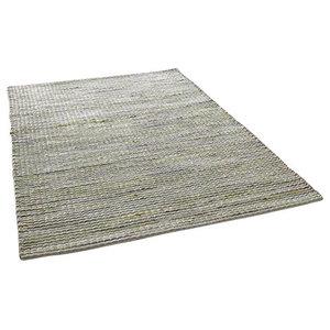Harper Green Rectangular Rug, 160x230 cm