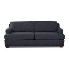 Klaussner Furniture Kora Sofa Dark Blue