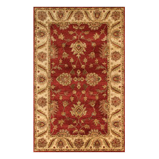 Noble House Golden GOLD-805 5'x8' Red, Beige Rug
