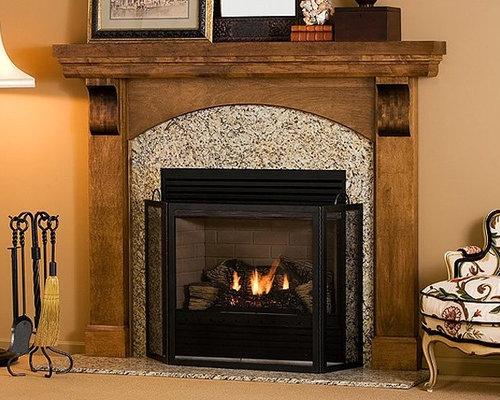 Webster Wood Fireplace Mantel - Fireplace Mantels - Fireplace Mantels - Wood