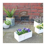 Rustic Crate Flower Garden Planter