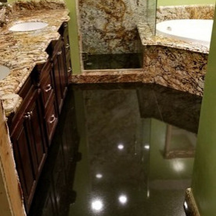 Laguna Niguel Granite Bathroom & Jacuzzi Tub