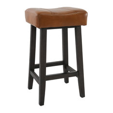 """Laurie Backless Counterstool 26""""  Caramel"""