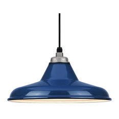 Navy pendant lighting houzz baselite warehouse pendant navy bluegalvanized pendant lighting aloadofball
