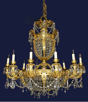 Vintage and antique chandeliers aloadofball