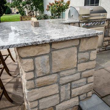 Outstanding Outdoor Kitchen