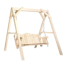 "Homestead Collection Lawn Swing With ""A"" Frame"