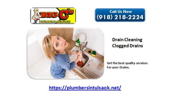 Get better services for your drain and water heaters