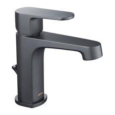 Devon Single Hole Faucet, Matte Black