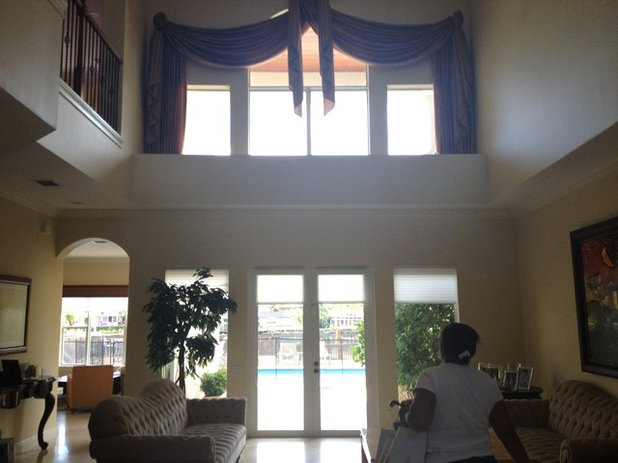 Houzz Tour Warming Up In Fort Lauderdale - Before and after from a mediterranean house fort lauderdale