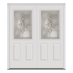 Double Front Doors White traditional white front doors | houzz