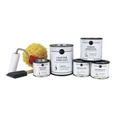 Giani Small Project Countertop Paint Kit, White Diamond