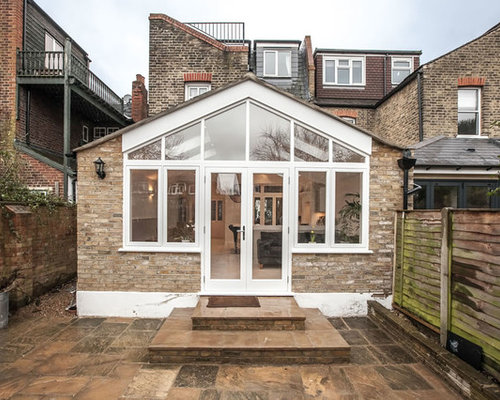 Single Storey Pitched Roof Extension In Teddington By Lu0026E (donu0027t Move Extend )