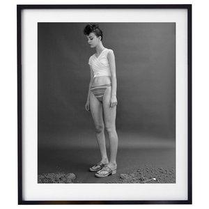 """The Beach 002"" Fashion Photography Print, Framed, 58x71 cm"