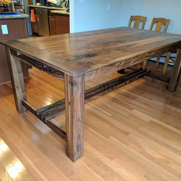 Craftsman Walnut Dining Table and Box