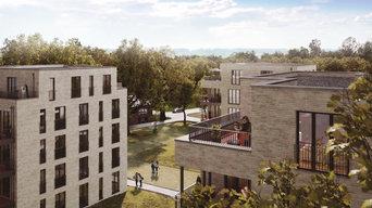 3D Visualisierung Wohnquartier