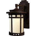 Maxim Lighting - Santa Barbara LED 1-Light Outdoor Wall Lantern - Number of Bulb: 1