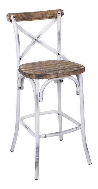 Zaire Bar Chair   Industrial   Bar Stools And Counter Stools   By ...